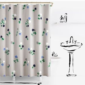 NWT Kate Spade Willow Court Shower Curtain